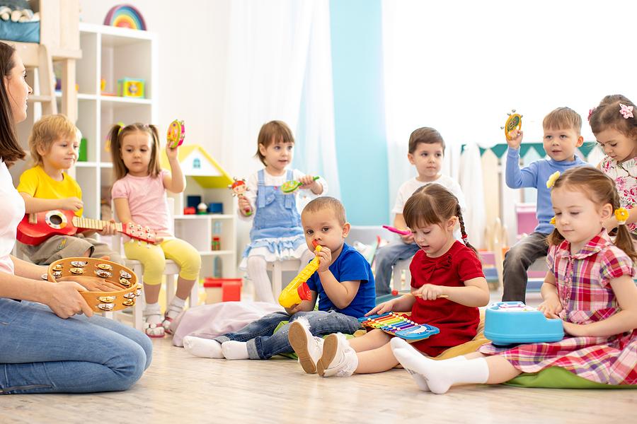 Kids inside a best preschool in Craigieburn