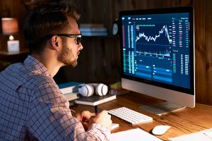 Broker forASX to buy checking the trading graph