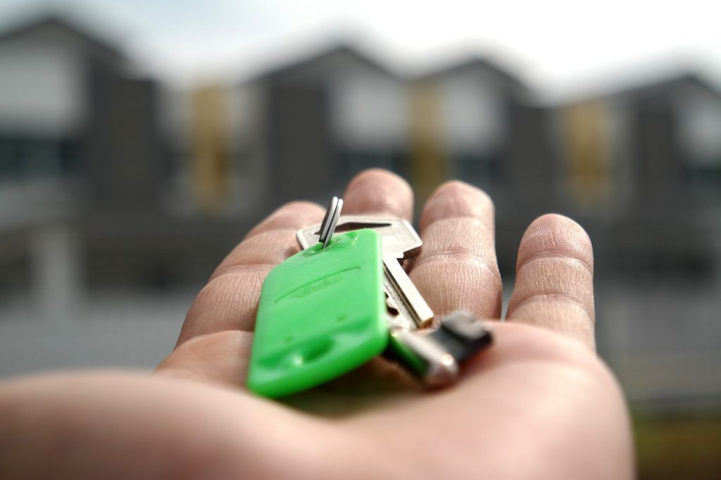 Key to a real estate in Wagga